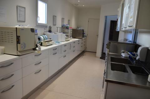 stérilisation zone sèche